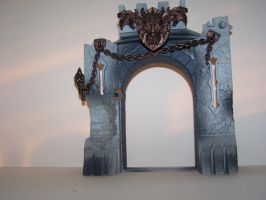 Toy Castle Gates by seiyastock
