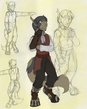TM2 Main Character Final Design/Color by dragonsong12
