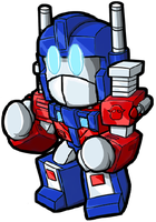 Lil Optimus Convoy by dl22003