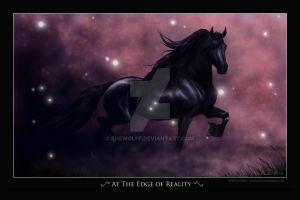At The Edge of Reality by SheWolff