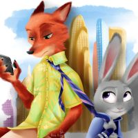 30 Day Challenge - 30th - Zootopia by himehisagi