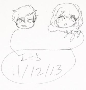 It's 11/12/13 by GoldenMizer90