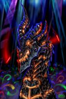 Deathwing's Rave by DragonCid