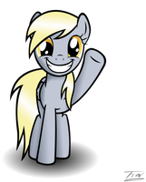 Derpy - You're welcome by Tim244