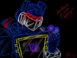 TF: G1 Soundwave by Jewel-Reaver