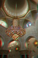 Sheikh Zayed mosque 3d stereo photo by amirajuli