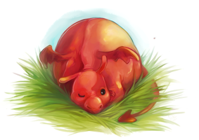 nap in the grass by oranges-lemons