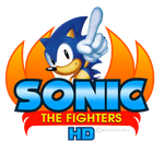 Sonic The Fighters HD logo remade by NuryRush