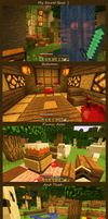 Minecraft World :] by Teatime-Rabbit