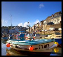 Mevagissey by TheFoolInTheRain