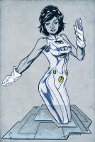 Phantom Girl by dichiara