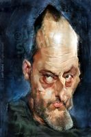 Jean Reno by Jeff Stahl by JeffStahl