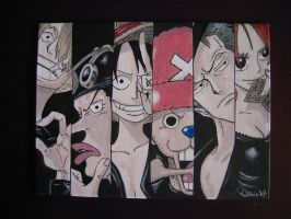 One Piece 15x20 by MartyGallo