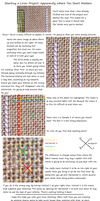 Starting Your Linen Stitches by pinkythepink