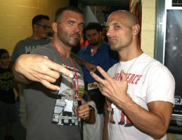 Frank Kazarian And Christopher Daniels by Wilcox660
