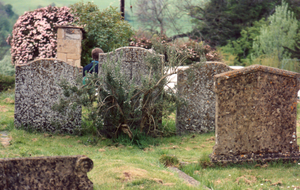 Old Grave Stones by hellonlegs