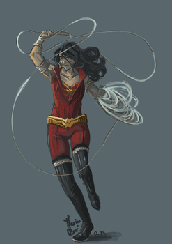 Wonder girl Donna by marina-rasi
