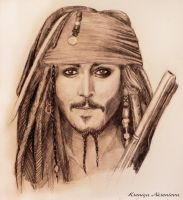 Jack Sparrow by A-Kseniya