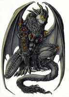 Comission: Gargoyle by Phantagrafie