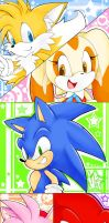 Sonic : Bookmark ? by Mn27