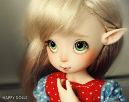 new doll and new camera by hellohappycrafts