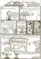 The Invader Zim Epic by eliseytook