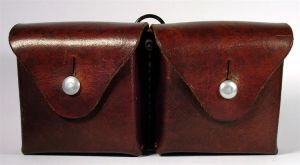 Ammo pouch, 7.5x55 Swiss front by FirearmsandDevices
