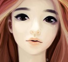 Speed painting Doll face by oOCherry-chanOo