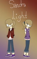 OC: Sandra Light [READ DESCRIPTION] by rcKEY
