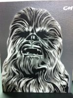 Chewbacca by Stencils-by-Chase