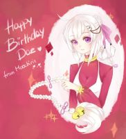 Happy Birthday Dae! by Moochirin