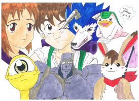 Monster Rancher by Ja-chan-Ichigo
