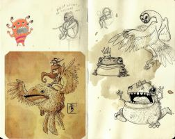 Moleskine Pages 4 by IgorSan