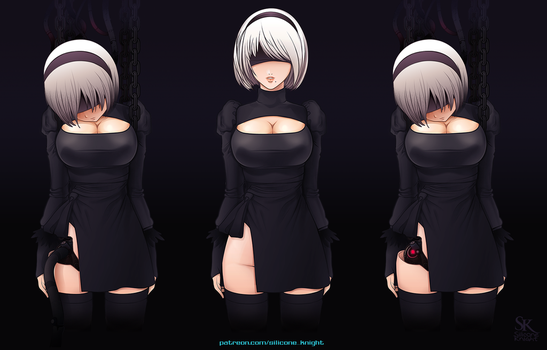 YoRHa No.2 Type B by silicone-knight