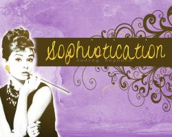 Audrey Hepburn- Sophistication by awrighton