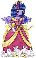 Princess Twilight Sparkle by suusj-chan
