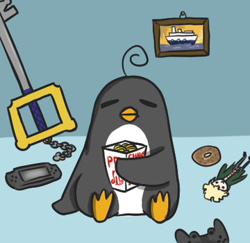 Picky Penguin in a nutshell by DerianRPG