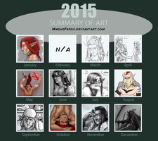 2015 Summary Of Art - MagusFerox by MagusFerox