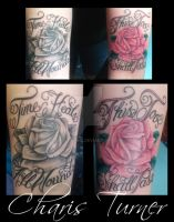 Rose Tattoos (Black and Gray/Color) by Metacharis