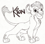 Kion by Child-Of-Hades