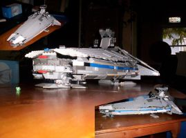 Lego Stardestroyer by GisliBalzer