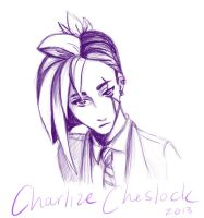 Charlize Cheslock (Fem!Cheslock) by whitewestie13