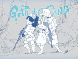 doodle030613_Gatling Gang snipe x assault mode by raysagun
