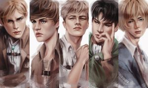 SnK Boys by putemphasis