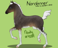 Nordanner Foal 4289 Design by bubbIies