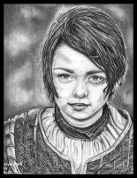 Arya Stark by jeni-art