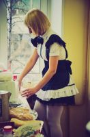 Maid outfit~ by Shira---Yuki