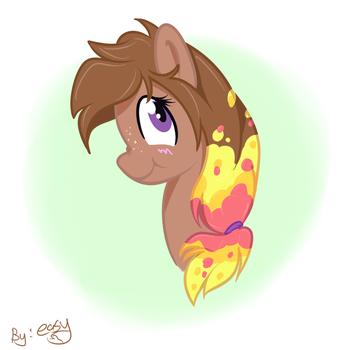 Dominique's oc, lavalamp by Easyfox7