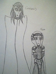 Humanized Grievous and Nara by GhostFreakFan01