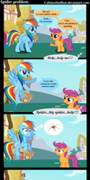 spider problem by Coltsteelstallion